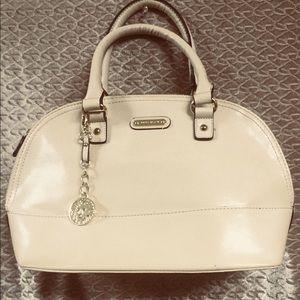 Anne Klein cream color handbag